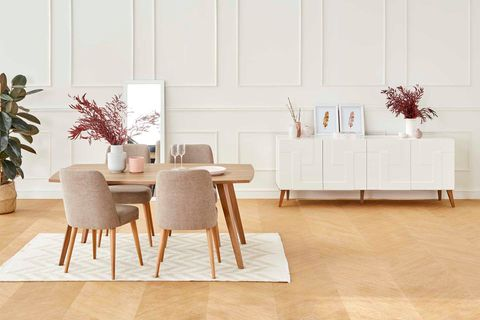 Neo 6-8 Extendable Dining Table, Walnut