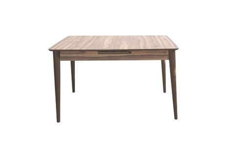 Volterra 4-6 Seat Extendable Dining Table, Wood