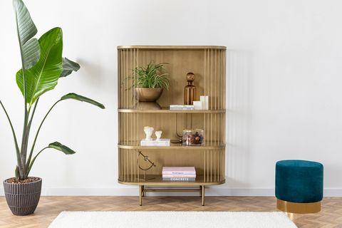 Leila Cabinet, Brass