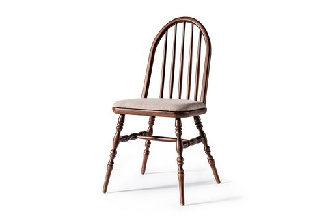 Laura Natural Chair, Dark Walnut