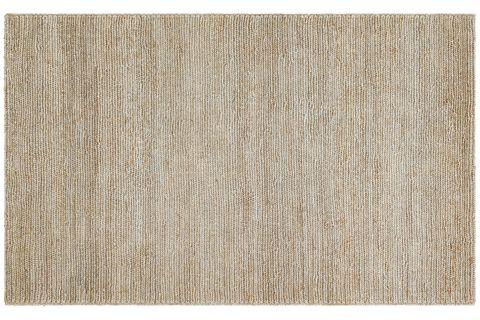 SHİNE GRİ JÜT İLE ÜRETİLEN EL DOKUMA SİSAL KİLİM 120x180