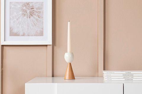 Egg Candleholder, Medium