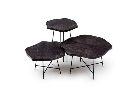 Dream Trio Coffee Table Set, Ebony