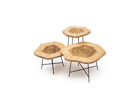 Dream Trio Coffee Table Set, Natural