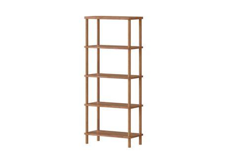 Maya Classic 5 Shelf Bookcase, (Medium)