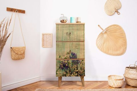 Motto Chest of Drawers, Forest Green