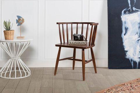Mirage Chair, Dark Wood