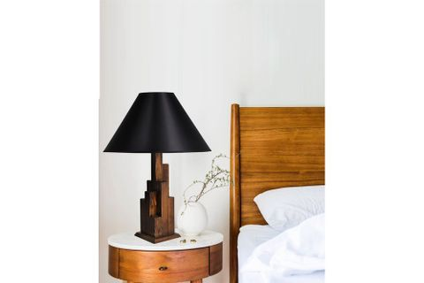 Tower Table Lamp, Black