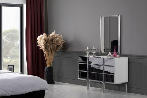 Nira Chest Of Drawers And Mirror