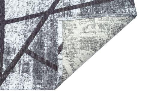LUFİA LF 04 ANTRASİT HAV VERMEZ KAYMAZ KİLİM 80x150