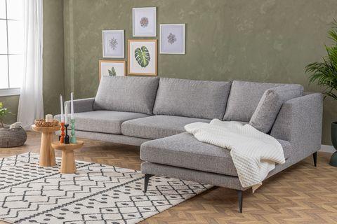 Matilda Corner Sofa, Grey (Right)
