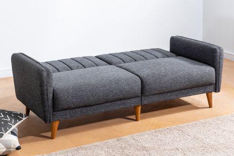 Aqua Three Seater Sofa Bed, Anthracite Grey