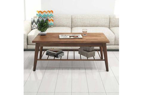 Sakura Coffee Table, Dark Wood