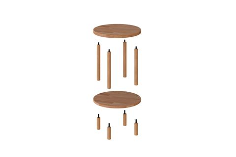 Maya Round Coffee Table (Small)