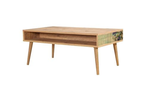 Motto Coffee Table, Forest Green