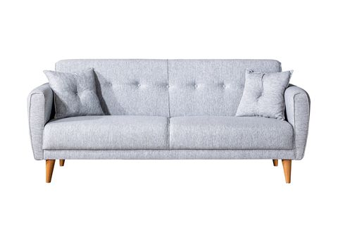 Aria Three Seater Sofa Bed, Grey