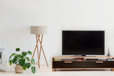 Bruce TV Unit 180 cm, Black