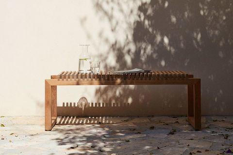 Sohomanje Bench, Light Wood