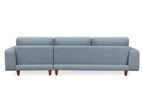 Merlin Corner Sofa, Blue (Right)