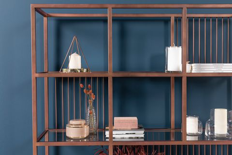 Lola Rose Gold Bookcase