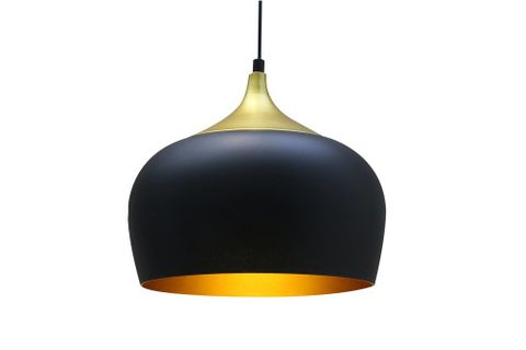 Signy Retro Pendant, Black