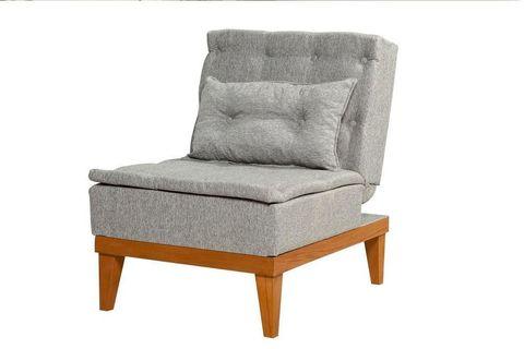 Fuoco Armchair Bed, Grey