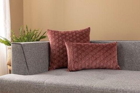 Trek Cushion Cover, 30x50 cm, Dry Rose
