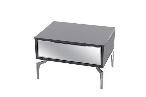 Anka Bedside Table, Grey