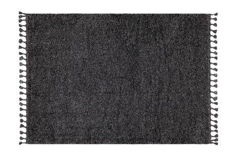 Marrakesh Shaggy Rug, Anthracite Grey (Large)