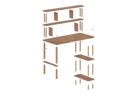Maya Nora Desk (Wide)
