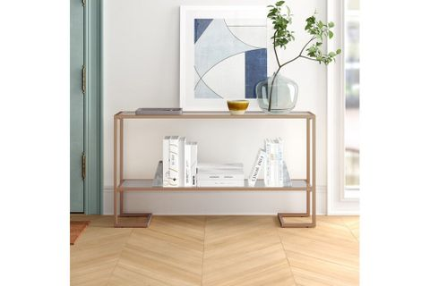 Zodoi Console Table, 120 cm, Gold