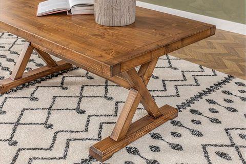 Matis Coffee Table, Dark Wood