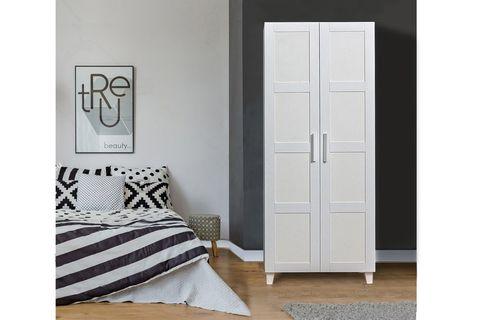 Victoria 2 Door Wardrobe, White