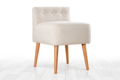 Miore Footstool, Cream