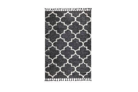 Marrakesh Scandi Rug, Anthracite Grey (Medium)