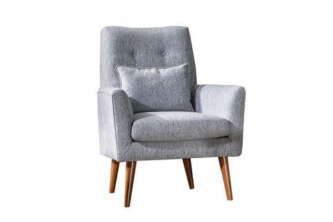 Zeni Armchair, Grey