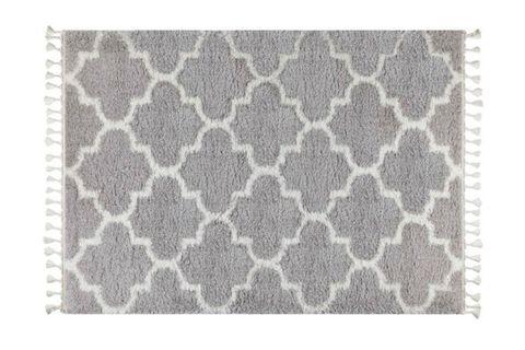 Marrakesh Scandi Rug, Grey (Small)