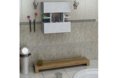Eris Bathroom Cabinet, White