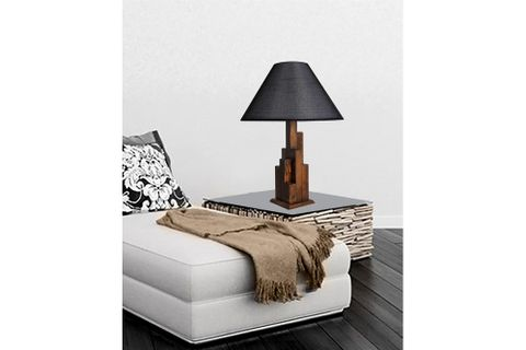 Tower Table Lamp, Grey
