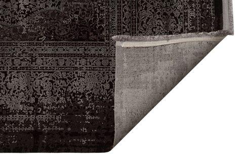 ANADOLU AD 01 ANTRASİT GRİ KLASİK DESENLİ SALON HALISI 80x300