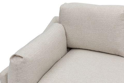 Leo Corner Sofa, Ecru (Right)