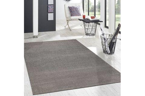 Essence Minimalist Woven Rug, 80 x 300, Grey