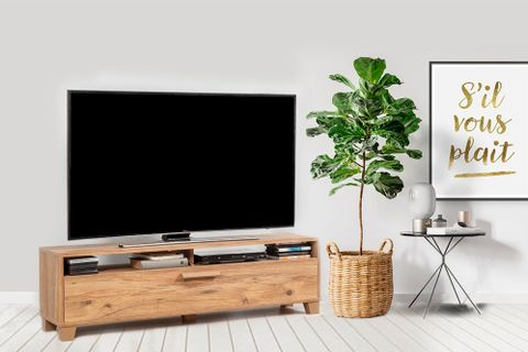 Bruce TV Unit 140 cm, Black Gold