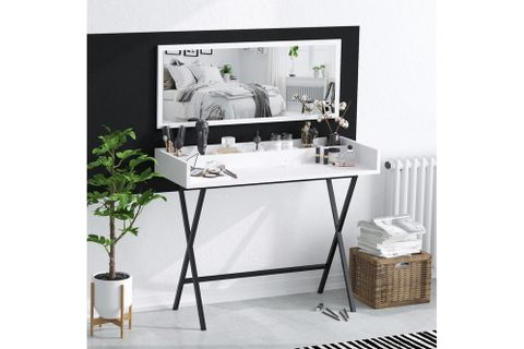 Sera Kir Dressing Table, White