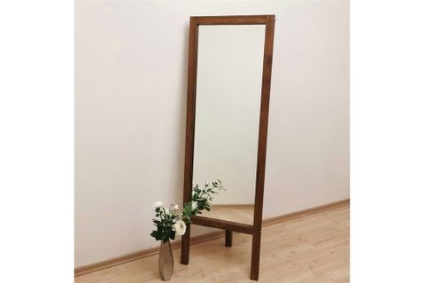 Easel Mirror, Walnut