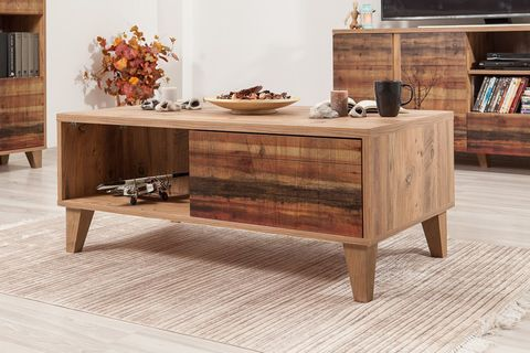 Lydia Coffee Table, Chestnut