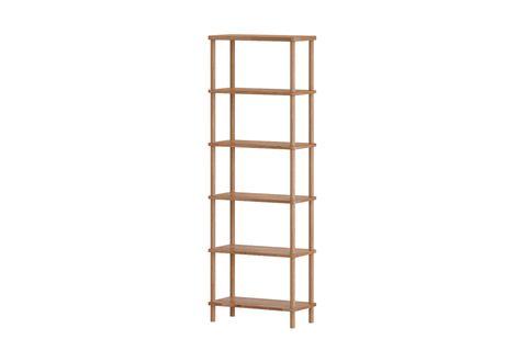 Maya Classic 6 Shelf Bookcase, (Medium)