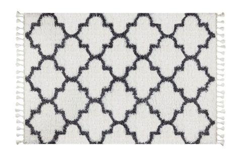 Marrakesh Scandi Rug, White (Large)