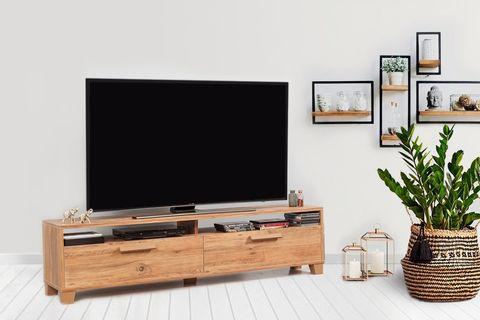 Bruce Twin TV Unit 180 cm, Natural