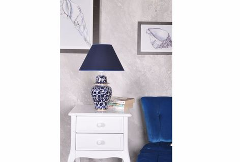 Blanc Ceramic Table Lamp